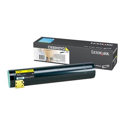 Εικόνα της Toner Lexmark C935 Yellow High Yield C930H2YG