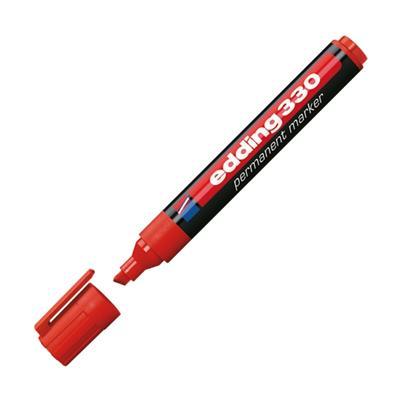 Εικόνα της Μαρκαδόρος Ανεξίτηλος Edding 330 1 - 5 mm Red 3625002