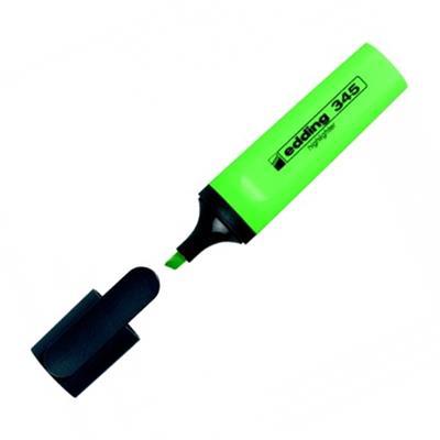 Εικόνα της Μαρκαδόρος Υπογράμμισης Edding 345 2 - 5 mm Green 3940004