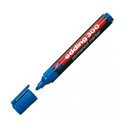 Εικόνα της Μαρκαδόρος Ανεξίτηλος Edding 300 1.5 - 3 mm Blue