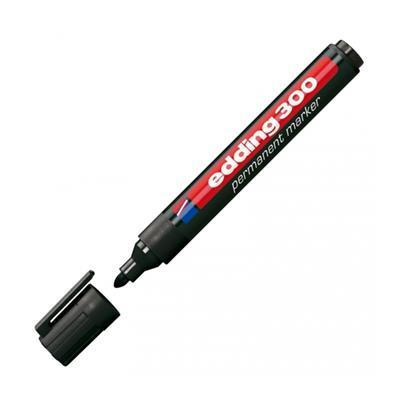 Εικόνα της Μαρκαδόρος Ανεξίτηλος Edding 300 1.5 - 3 mm Black 3623001
