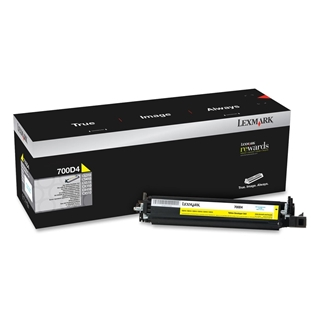 Εικόνα της Developer Unit Lexmark 700D4 Yellow 70C0D40