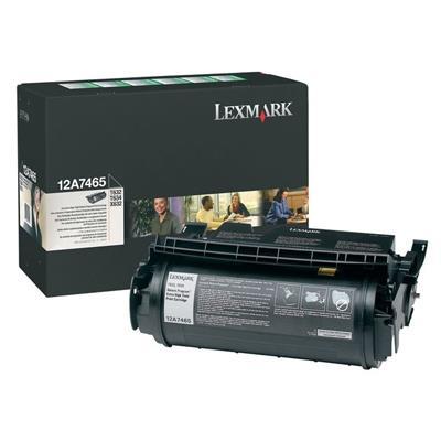 Εικόνα της Toner Lexmark T630 / T632 / T634 Black Extra High Yield 12A7465