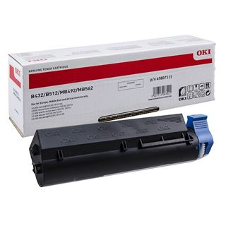 Εικόνα της Toner Oki Black High Capacity 45807111