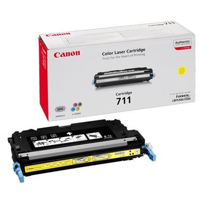 Εικόνα της Toner Canon 711 Yellow 1657B002