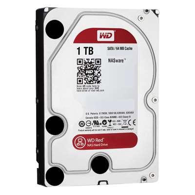 """Εικόνα της Εσωτερικός Σκληρός Δίσκος Western Digital Red 1TB 3.5"""" WD10EFRX"""