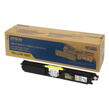 Εικόνα της Toner Epson Yellow HC C13S050554