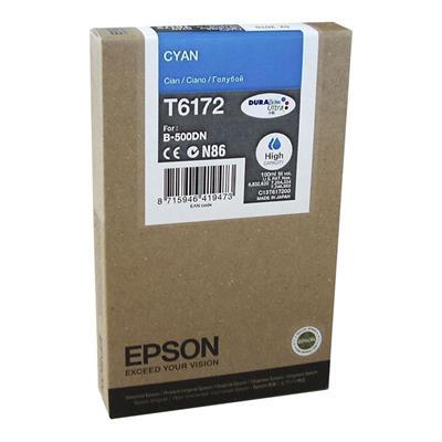 Εικόνα της Μελάνι Epson T6172 Cyan HC C13T617200