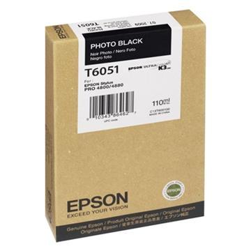 Εικόνα της Μελάνι Epson T6051 Photo Black C13T605100
