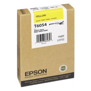Εικόνα της Μελάνι Epson T6054 Yellow C13T605400