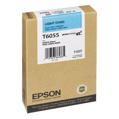 Εικόνα της Μελάνι Epson T6055 Light Cyan C13T605500