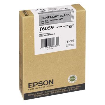 Εικόνα της Μελάνι Epson T6059 Light Light Black C13T605900