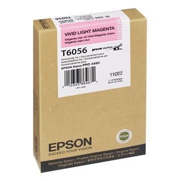 Εικόνα της Μελάνι Epson T6056 Vivid Light Magenta C13T605600