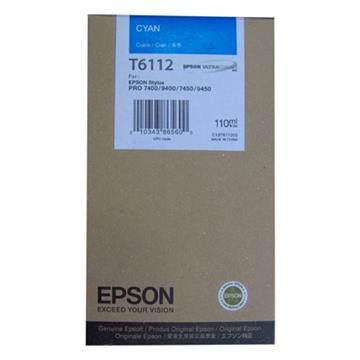Εικόνα της Μελάνι Epson T6112 Cyan C13T611200