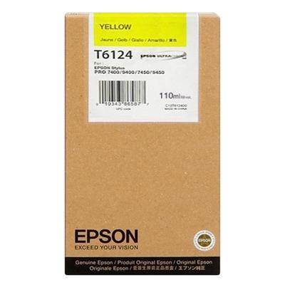 Εικόνα της Μελάνι Epson T6114 Yellow C13T611400