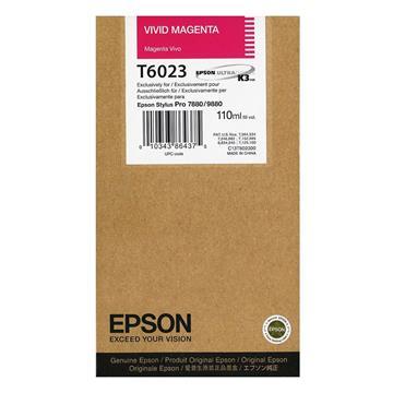 Εικόνα της Μελάνι Epson T6023 Vivid Magenta C13T602300