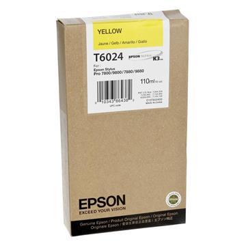 Εικόνα της Μελάνι Epson T6024 Yellow C13T602400
