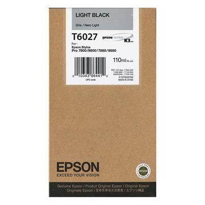Εικόνα της Μελάνι Epson T6027 Light Black C13T602700