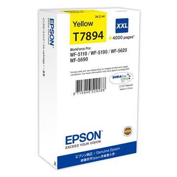 Εικόνα της Μελάνι Epson T7894 Yellow XXL C13T789440