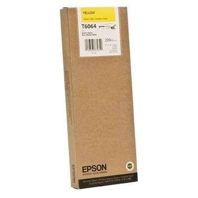 Εικόνα της Μελάνι Epson T6064 Yellow HC C13T606400