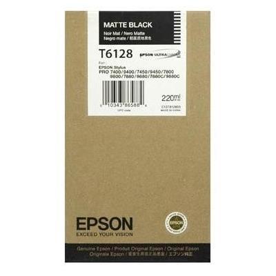 Εικόνα της Μελάνι Epson T6128 Matte Black HC C13T612800