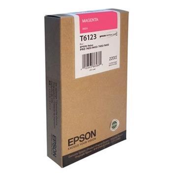 Εικόνα της Μελάνι Epson T6123 Magenta HC C13T612300