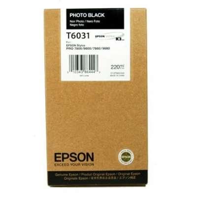 Εικόνα της Μελάνι Epson T6031 Photo Black HC C13T603100