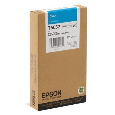 Εικόνα της Μελάνι Epson T6032 Cyan HC C13T603200