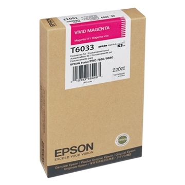 Εικόνα της Μελάνι Epson T6033 Vivid Magenta HC C13T603300