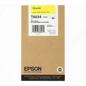 Εικόνα της Μελάνι Epson T6034 Yellow HC C13T603400