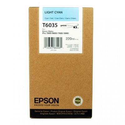 Εικόνα της Μελάνι Epson T6035 Light Cyan HC C13T603500