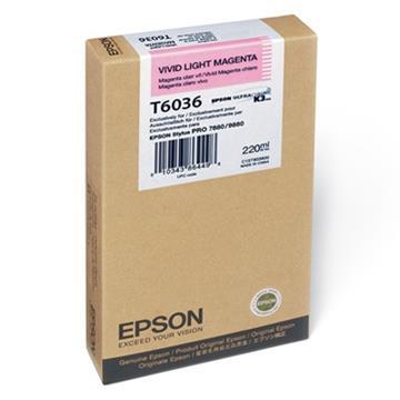 Εικόνα της Μελάνι Epson T6036 Vivid Light Magenta HC C13T603600