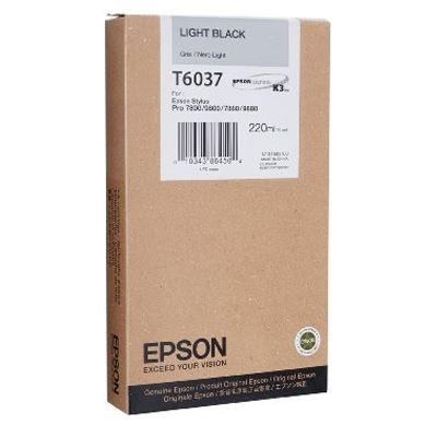 Εικόνα της Μελάνι Epson T6037 Light Black HC C13T603700