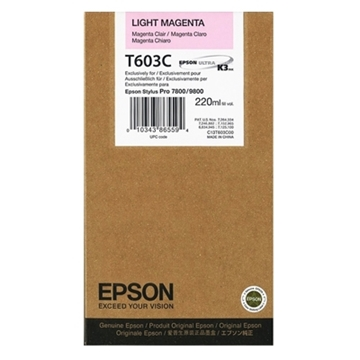 Εικόνα της Μελάνι Epson T603C Light Magenta HC C13T603C00
