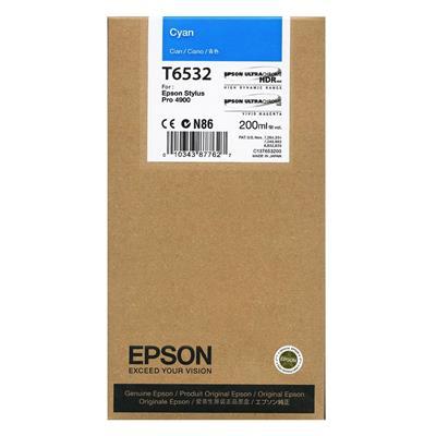 Εικόνα της Μελάνι Epson T6532 Cyan C13T653200
