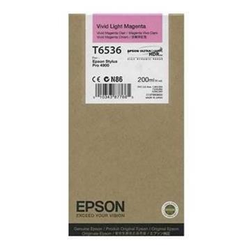 Εικόνα της Μελάνι Epson T6536 Vivid Light Magenta C13T653600