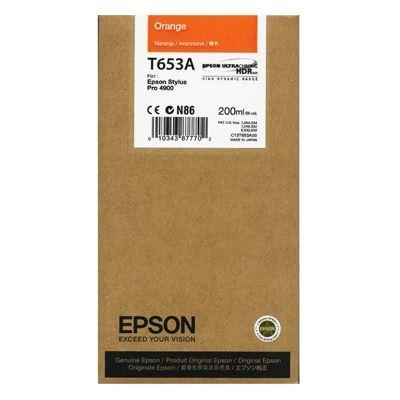 Εικόνα της Μελάνι Epson T653A Orange C13T653A00