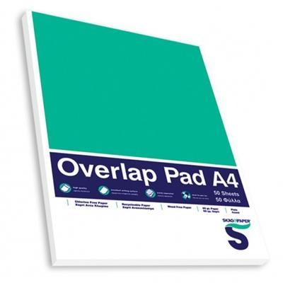 Εικόνα της Μπλοκ Σημειώσεων SKAG A4 Με Εξώφυλλο Λευκό 60 gr.
