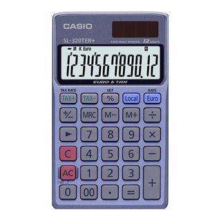 Εικόνα της Αριθμομηχανή 12 Ψηφίων Casio SL-320TER+
