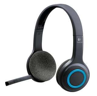 Εικόνα της Headset H600 Logitech Wireless Black 981-000342