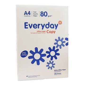 Εικόνα της Χαρτί Εκτύπωσης Everyday Α4 80g/m² 500 Φύλλα 1001101 (1 Δεσμίδα)