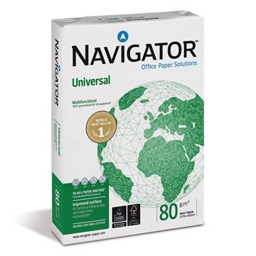 Εικόνα της Χαρτί Εκτύπωσης Navigator Α4 80g/m² 500 Φύλλα 330962 (5 Δεσμίδες)
