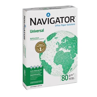 Εικόνα της Χαρτί Εκτύπωσης Navigator Α3 80g/m² 330964 (5 Δεσμίδες)