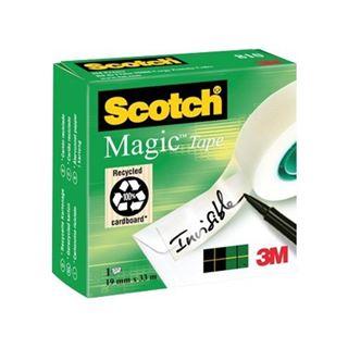 Εικόνα της Κολλητική Ταινία 3m Scotch Magic Tape 19mm X 33m 8101933