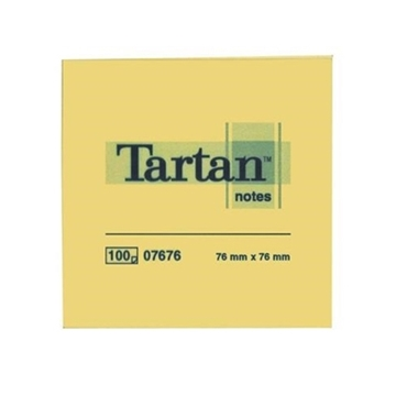 Εικόνα της Αυτοκόλλητα Χαρτάκια 3M Tartan 76 x 76 mm TART654