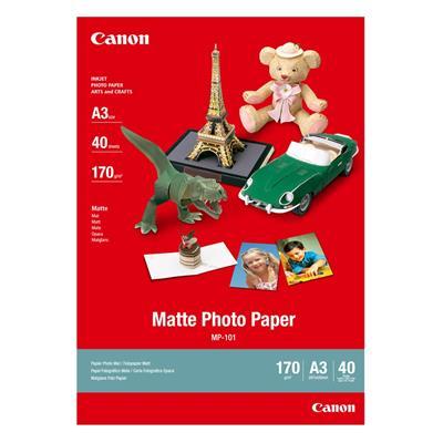 Εικόνα της Φωτογραφικό Χαρτί Canon MP-101 A3 Matte 170g/m² 40 Φύλλα 7981A008