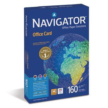 Εικόνα της Επαγγελματικό Χαρτί Εκτύπωσης Navigator (Office Card) A4 160gr 250 Φύλλα