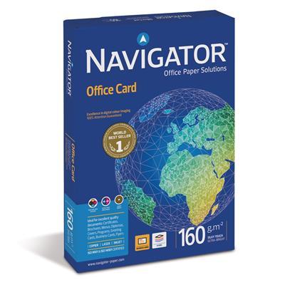 Εικόνα της Επαγγελματικό Χαρτί Εκτύπωσης Navigator (Office Card) A4 160g/m² 250 Φύλλα
