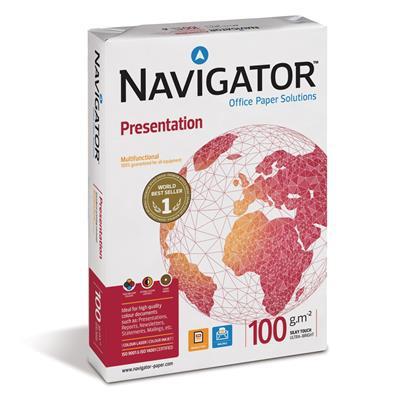 Εικόνα της Επαγγελματικό Χαρτί Εκτύπωσης Navigator (Presentation) A4 100g/m² 500 Φύλλα