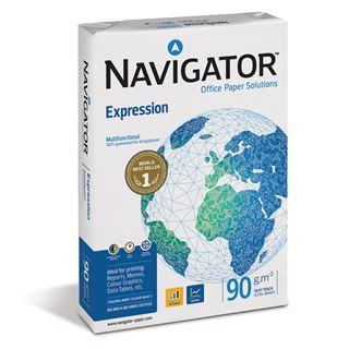Εικόνα της Επαγγελματικό Χαρτί Εκτύπωσης Navigator (Expression) A4 90gr 500 Φύλλα